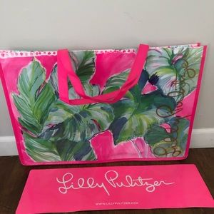 Lilly Pulitzer Large Shopping Tote Bag